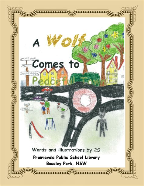 j c comes to town books a wolf comes to peaceful town book 306859 bookemon