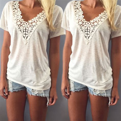30532 Lace Printed Casual Top fashion summer vest top sleeve blouse casual