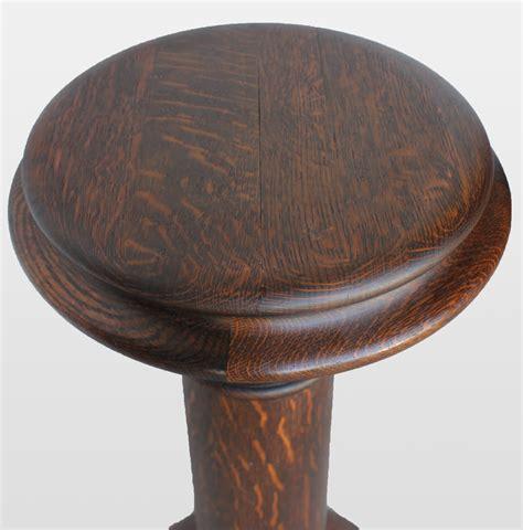 Oak Pedestal bargain s antiques 187 archive antique large oak