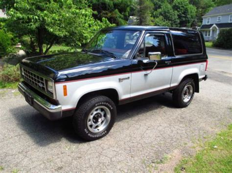 how cars run 1988 ford bronco transmission control sell used 1988 bronco ii only 76k actual miles 4x4 v6 auto trans original survivor in