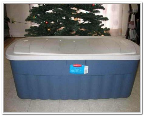 christmas tree storage box rubbermaid home design ideas