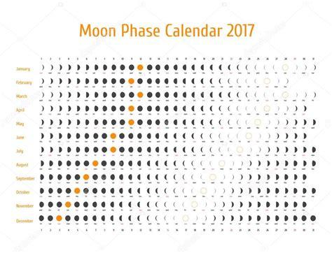 Calendrier Lunaire Novembre 2017 Calendrier Astrologique De Vecteur Pour 2017 Calendrier