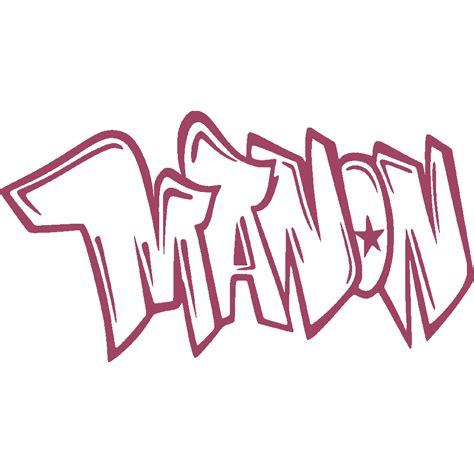 stickers manon graffiti  art stick
