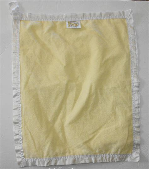 comfort silkie 2 14 sold comfort silkie yellow white satin security baby