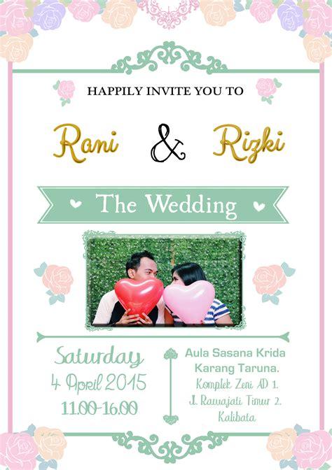 desain undangan pernikahan via bbm undangan murah zulazula s blog