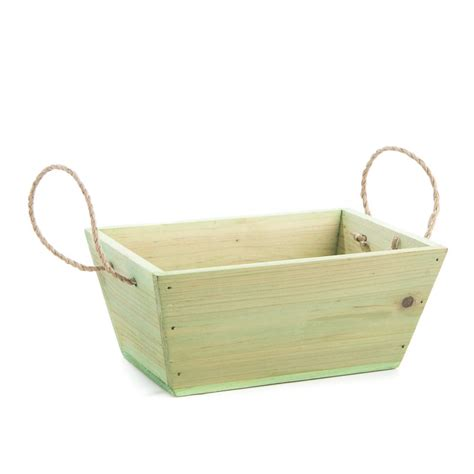 home decor baskets green rustic wood basket baskets buckets boxes