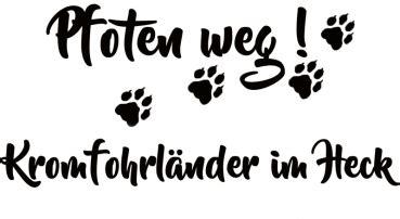 Länder Sticker Auto by 4pfotenshop Hundewarnschilder Und Kratzfeste