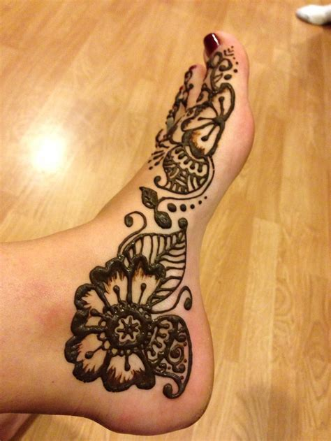 henna style foot tattoo designs henna foot design www hierishetfeest nifty
