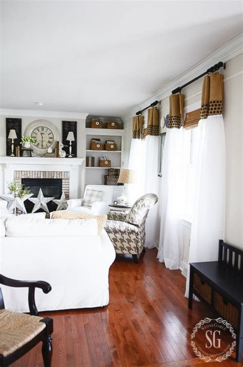 upgrade white curtains 6 easy ways to lighten up a room for summer stonegable