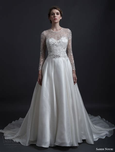 sareh nouri bridal spring  wedding dresses wedding