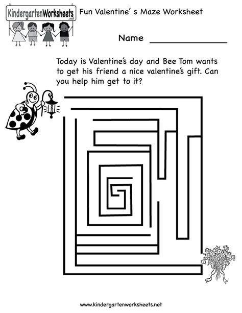 printable owl maze kindergarten fun valentine s day maze worksheet printable
