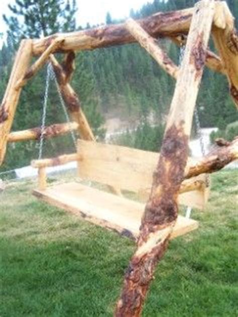 log swing set plans 17 best images about log furniture ideas on pinterest