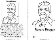 ronald reagan enchantedlearning com