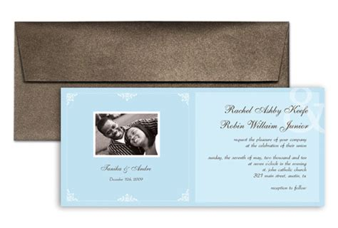 9x4 card template templates american wedding invitation design 9x4