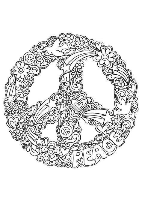 Peace Mandala Coloring Pages free coloring pages of mandala peace