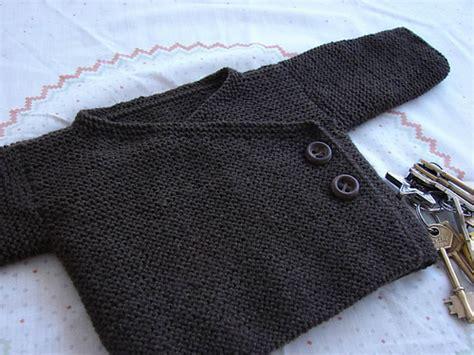 free knitting pattern for easy baby kimono easy garter patron gratuit du baby kimono l atelier de vidibio