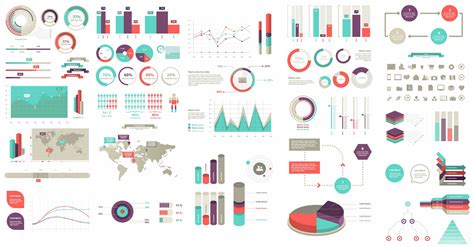 infographic element layout 100 infographic elements vector resourcevault