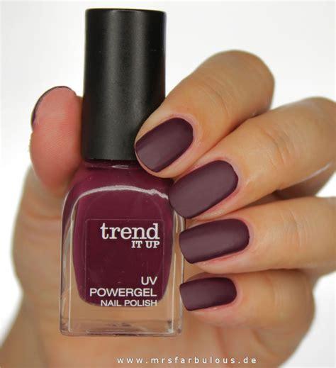 dm matt nagellack trend it up nagellack uv powergel glossy und matt