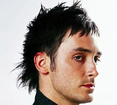 cool mullet hairstyles for guys had the same unusual spiky hairstyle for a while and i