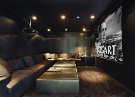 modern cinema room features of a contemporary luxury home papertostone