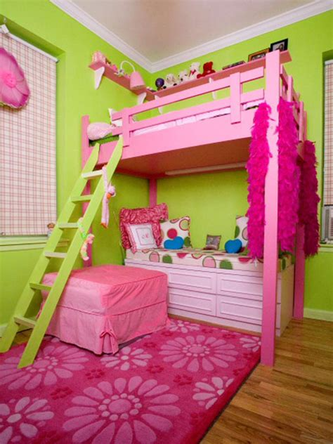 pink and green children s room hgtv