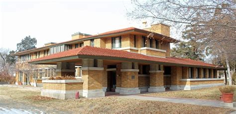 Usonian House by 7 Frank Lloyd Wright Buildings In Kansas And Missouri Kcur