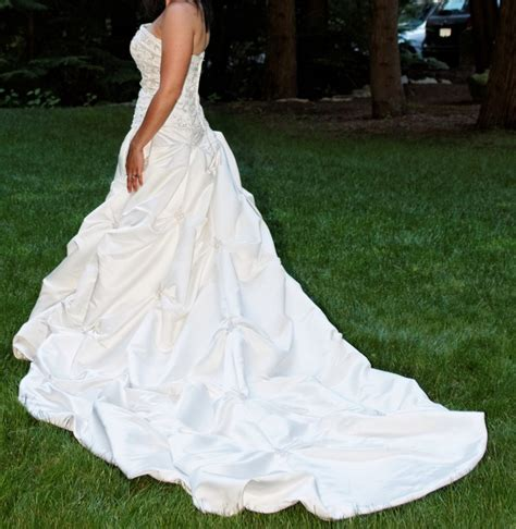 Brautkleider Da Vinci by Da Vinci 8220 Second Wedding Dress On Sale 58