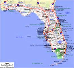 pin kaart florida on