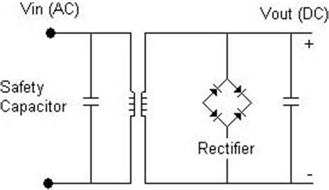 how capacitor work in dc supply safety certified application notes