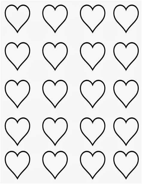 imagenes de corazones medianos moldes o plantillas de corazones ideas y material