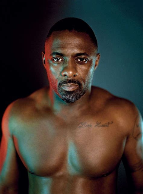 idris elba tattoo idris elba covers details september 2014 issue talks no