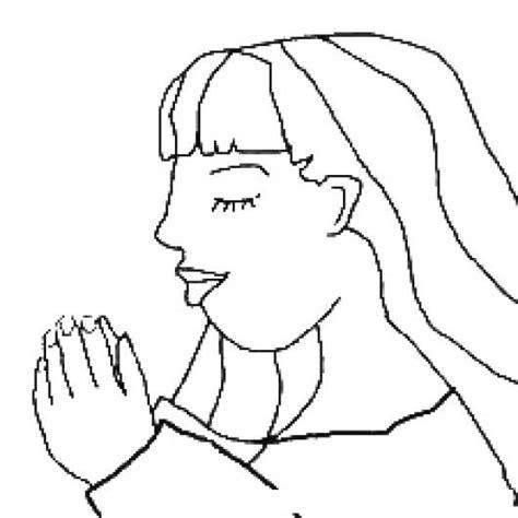 imagenes de mujeres orando para colorear ayudamesenor dibujo de una mujer orando y rogando a dios