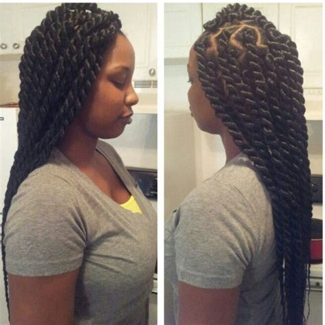 big senegalese twists hairstyles rope twist hairstyles pinterest rope twist twists