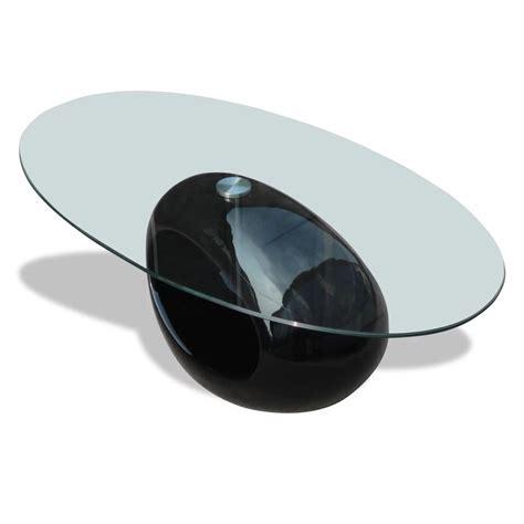 salontafel zwart vidaxl nl salontafel rond zwart