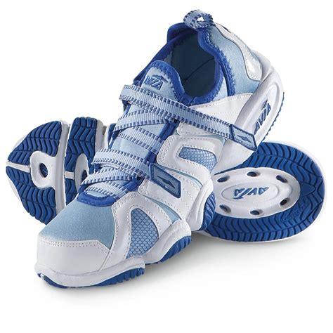 aerobic sneakers s avia 174 aqua fitness aerobic shoes white blue