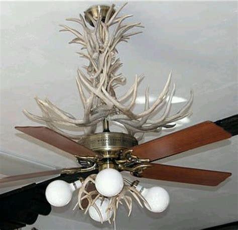 Deer Antler Ceiling Fan by Antler Ceiling Fan Chandelier Winda 7 Furniture