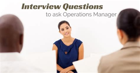 Questions To Ask At An Mba Seminar by 10 Best Questions To Ask Operations Manager