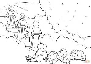 free bible coloring pages jacob s ladder jacob s ladder coloring page free printable