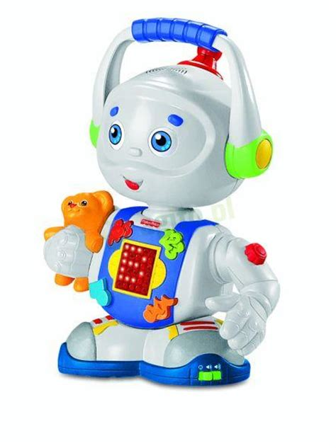 fisher price robot fisher price ucz艱cy robot tobi m7498 zabawki dla dziecka