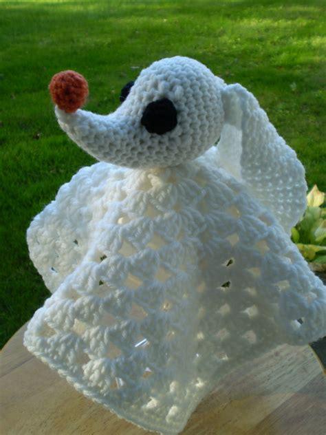 nightmare before christmas zero crochet pattern items similar to crocheted zero lovey nightmare before