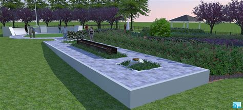 design concept memorial park 9 11 memorial at chesapeake city park