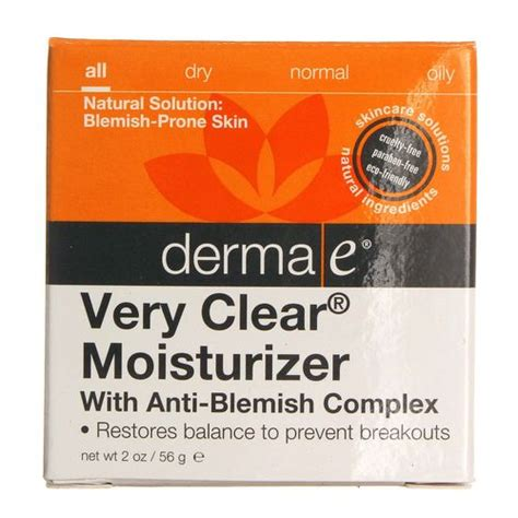 Harga Derma E Clear Moisturizer derma e clear moisturizer 2 oz evitamins