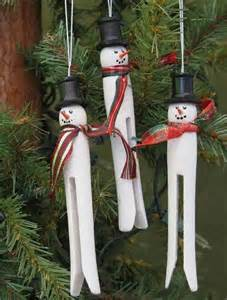 clothespin ornaments christmas pinterest