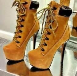 timberlands high heels wauw tacones para bailar