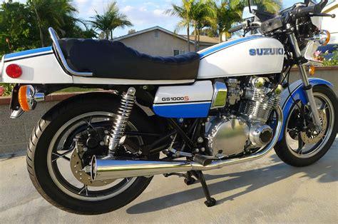 1980 Suzuki Gs1000 Fully Restored 1980 Suzuki Gs1000s Wes Cooley Replica