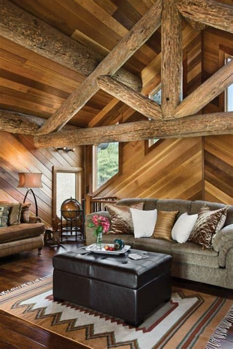 woolwich maine log home cottage  precisioncraft