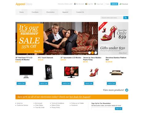 magento themes store 10 best magento themes for electronics apparel giftshop
