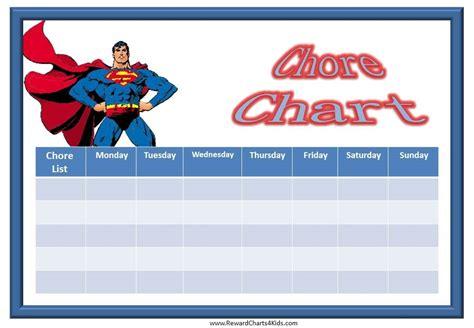 printable reward charts spiderman printable chore charts