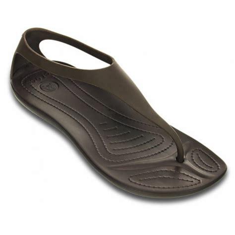 croc sandals crocs crocs sexi flip espresso espresso u3 11354 22z