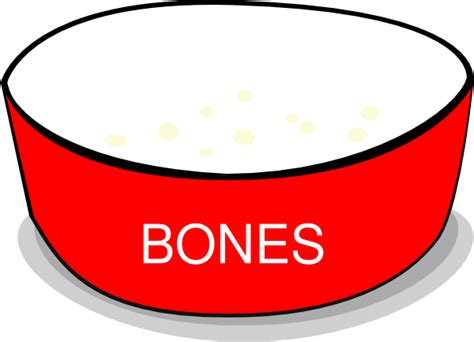 Bowl Clip Free by Bowls And Bones Clipart Clipart Suggest